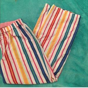 Victoria Secret Pink size med striped sleep pants